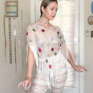 🌸 Petals Vintage Crochet Shawl 🌸